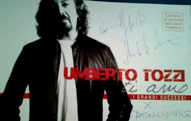 CD autografato Tozzi
